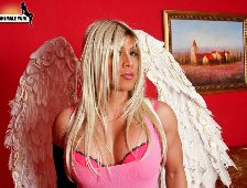 Chloe London Naughty Tranny Angel