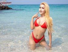 Manoaw Beach Babe Ladyboy