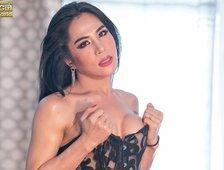 Bangkok Ladyboy Mo Dressed For Sex Photos
