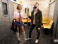 Emma Rose Sex On The Subway