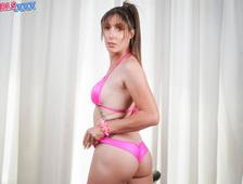 Melanie Brooks Pink Panties Trip
