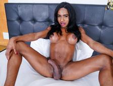 Karina Rios Curved Big Cock Brazil Tgirl