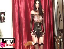 Hannah Sweden Corset Shemale Video