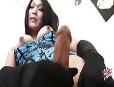 Minami Hosho Legs High Cock Hard