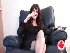 Tasha Jones Canada Tgirl Dildo Love