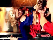 Superhero Tgirl Aubrey Kates