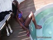 Kayla Biggs American Bikini Black Shemale