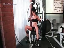 Aubrey Starr Shemale Workout