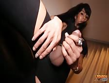 Busting Big Cock Ladyboy