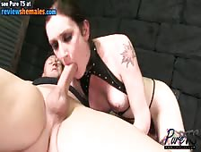 Christina Skyye Sex Slave Shemale Unleashed
