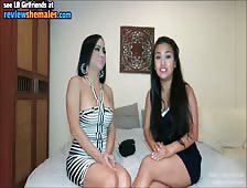 Famous Ladyboy Amy Interviews Naughty Babe