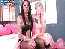 Honey Foxxx Lesbian Tgirl Sex With Lena Kelly