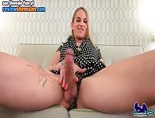 Lusinda Devine Shemale Yum Big Cock