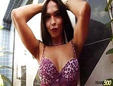 Carla Abiazzi Smoking Tgirl Hotness