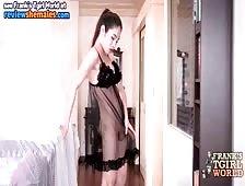 See Through Black Teddy Ladyboy Alice