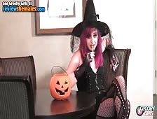 Scout London Naughty Tgirl Witch