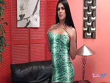 Mexican Transsexual Goddess Kira Sweet Cock