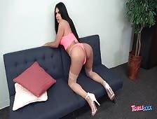 Sexy Mexican Tgirl Big Cock Kira