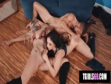 Aubrey Kate Threesome Sex Party