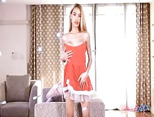 Super Hot Asian Ladyboy Coco Holiday Tease