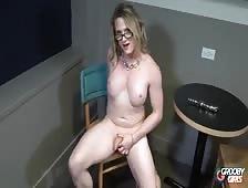 Jordyn Starstruck Horny Tgirl Toy Play