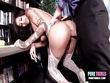 Gia Cruz Hot New Barebacking Tgirl Video