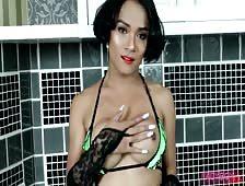 Sexy Bikini Asian Tgirl Emmy Nana Plaza