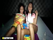 Two Ladyboys Happy Ending Massage Paradise