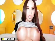 Horny Sexy Asian Tgirl Bon Hardcore Date