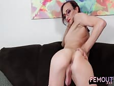 Shannon Rogue Hot Tight Ass Tgirl Dildo Play