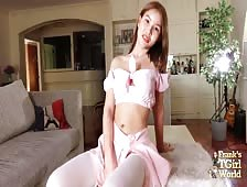 Super Cute Bangkok Ladyboy Natty Sweet Strip
