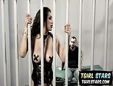 Jessy Dubai Cellmate Tgirl Sex