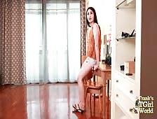 Bangkok Hottie Meena Hot Ass Tease