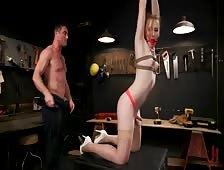 Shiri TS Seduction Bareback Bondage