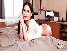 Sammy Pattaya Bedroom Play Ladyboy