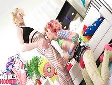 Delilah Darling and Serena Bubbles Tgirls Hookup